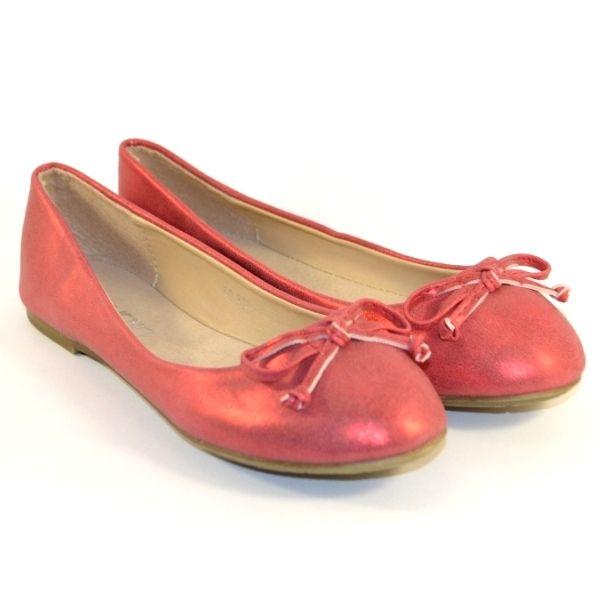 Червоні балетки - взуття для комфортних прогулянок, купити комфортну взуття Запоріжжя, балетки Україна