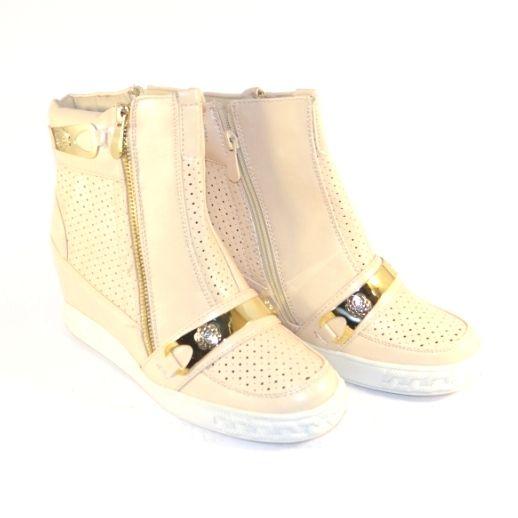 Бежеві снікерси Запоріжжя, купити снікерси жіночі, черевики снікерси Україна