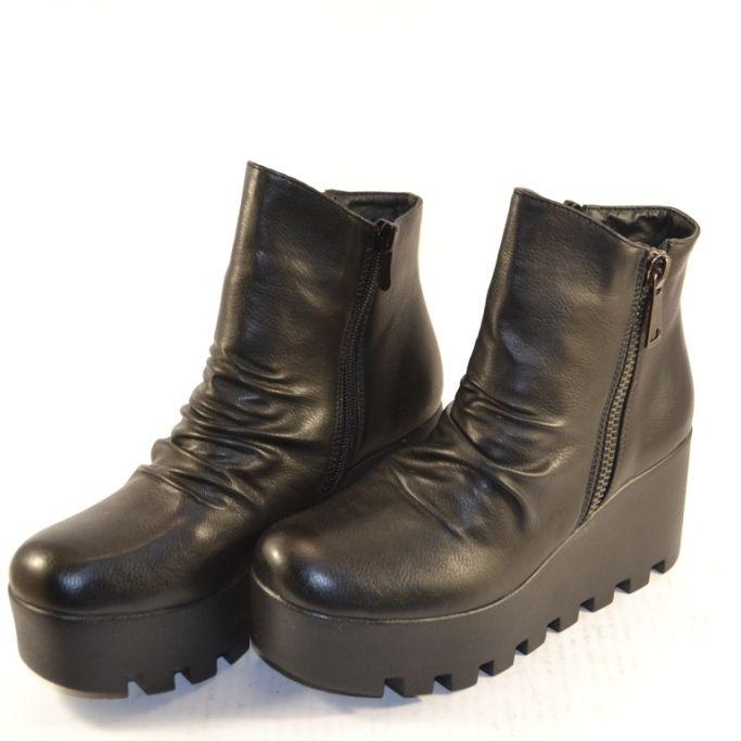 Ботинки осенние на платформе купить в Запорожье, купить женскую осеннюю  обувь Украина b28a30c0dfc