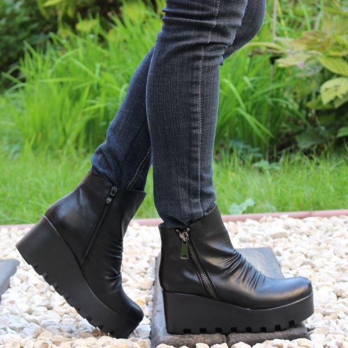 ... Ботинки осенние на платформе купить в Запорожье, купить женскую осеннюю  обувь Украина 5 ... 8b89ad8fe6b