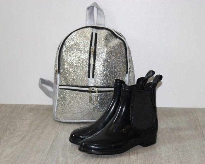 Силиконовые сапожки для девочек, детская силиконовая обувь Украина, купить ботинки силикон