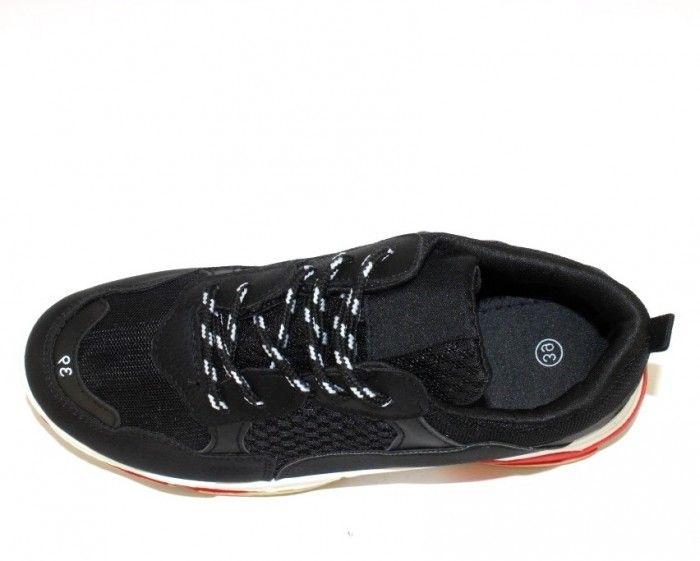 442040aa ... Модные кроссовки D1901-1 BLACK - купить в интернет магазине в Запорожье,  Днепре, ...