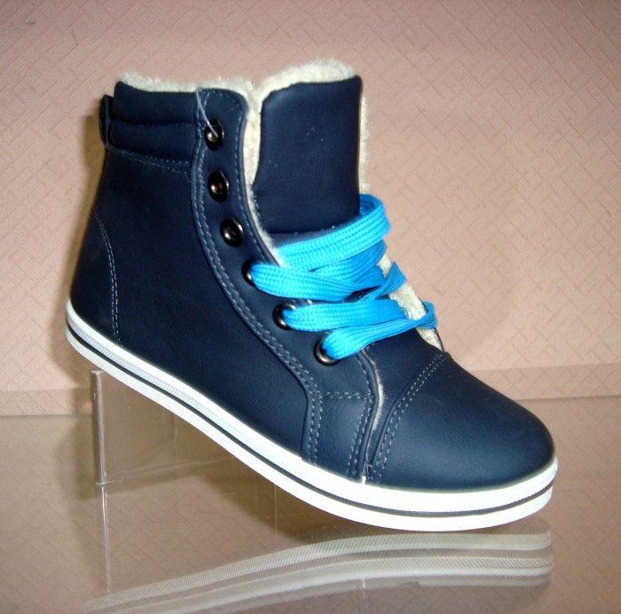 Модні зимові черевики для хлопчиків з Польщі!