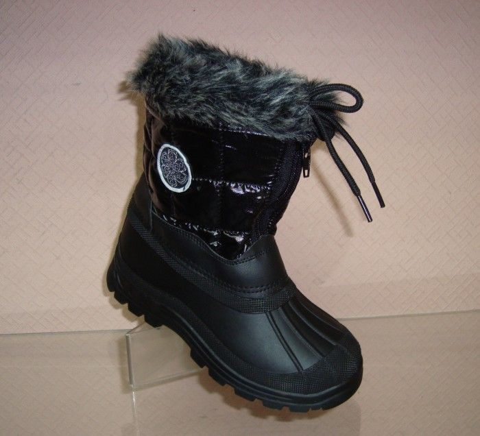 тепла зимове взуття для дівчинки черевики дутики недорого купити в запоріжжя інтернет-магазин