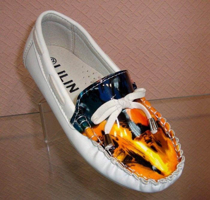 купить детские туфли на девочку низкая цена недорого в интернет-магазине