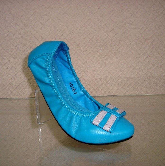 Балетки для дівчинки 1016-6 бірюза дитяче взуття в Україні