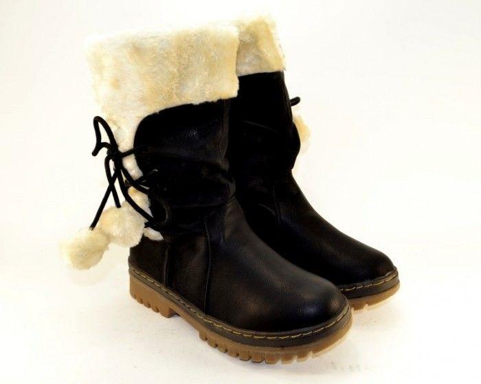 Дитяча зимове взуття - для справжньої маленької леді!
