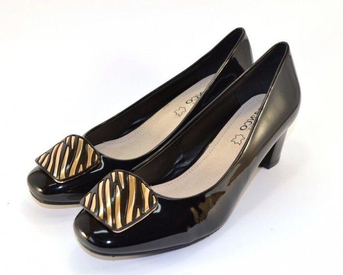 Кращий вибір жіночого взуття в Запоріжжі, жіночі туфлі червоні, туфлі чорні