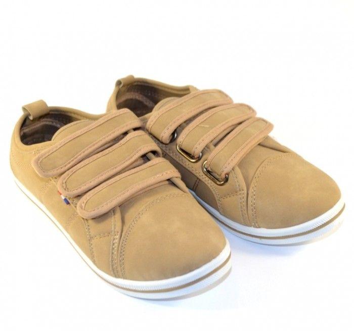 Кеди дитячі на липучках L44C-2 хакі - в інтернет магазині дитячих кросівок для хлопчиків