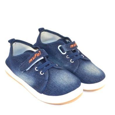 Кеди джинсові підліткові B6852-1 - в інтернет магазині дитячих кросівок для хлопчиків
