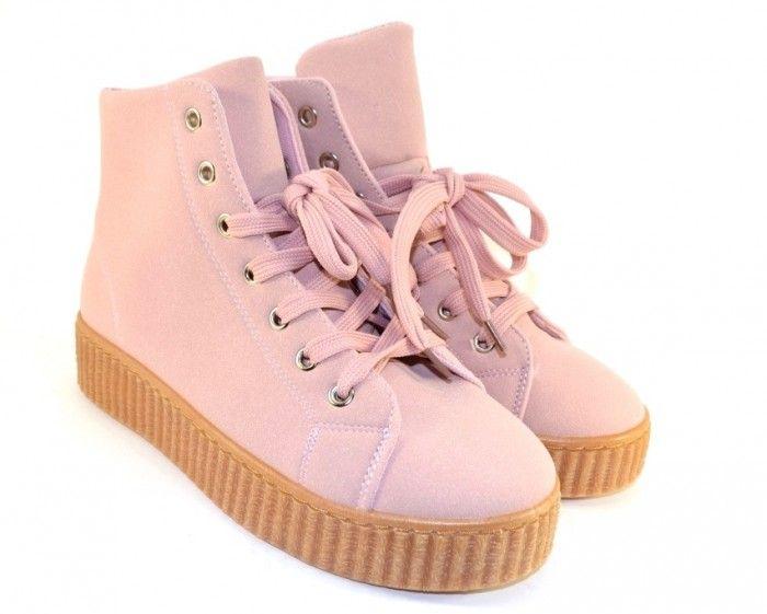 Черевики весняні та осінні - Комфортні демісезонні черевики AM1103 PINK