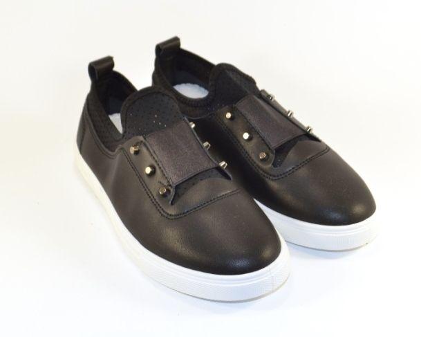 Комфортні жіночі сліпони 5310 - купити кеди в стилі Vans в інтернет магазині взуття