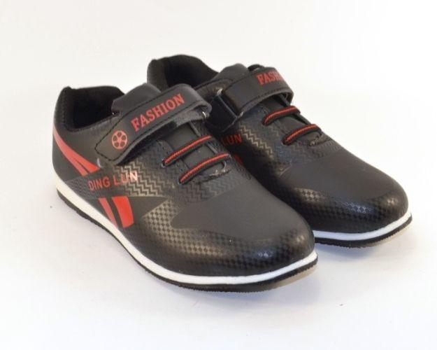 0b3d9d97c Кроссовки для мальчика на липучке E313-1 - в интернет магазине детских  кроссовок для мальчиков