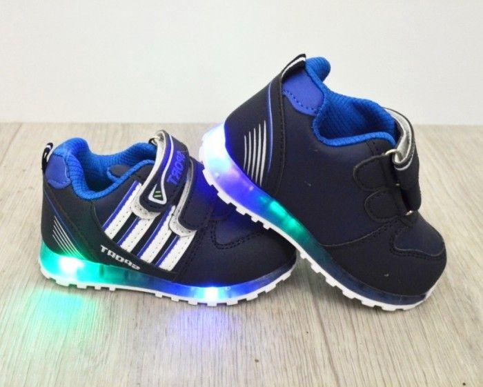 Кросівки для хлопчиків з ліхтариками F609-1 - в інтернет магазині дитячих кросівок для хлопчиків