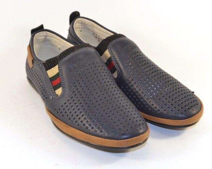 Купити дитяче взуття для хлопчика, літнє взуття для дітей Україна, мокасини шкільні для хлопчика