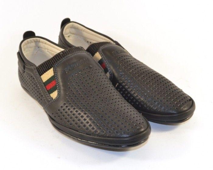 Купити річну закрите взуття для хлопчика, літні мокасини для дітей, польська взуття в Україні