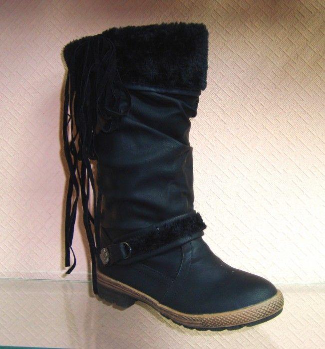 Зимние сапоги - качественная польская обувь в Украине!