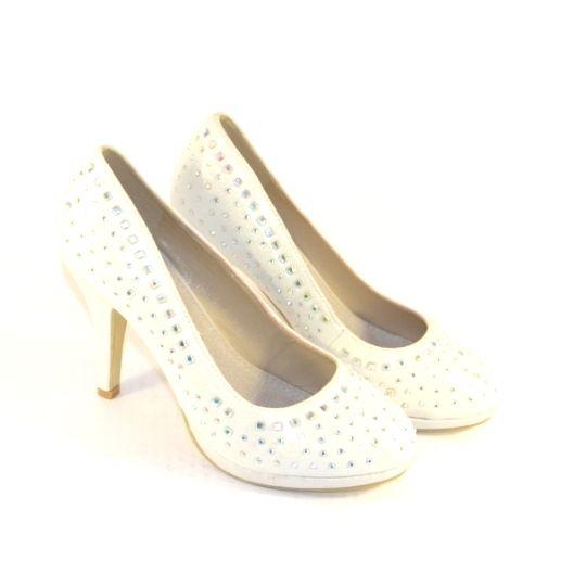 Святкові жіночі туфлі, купити білі туфлі на підборах, туфлі на шпильці Запоріжжя