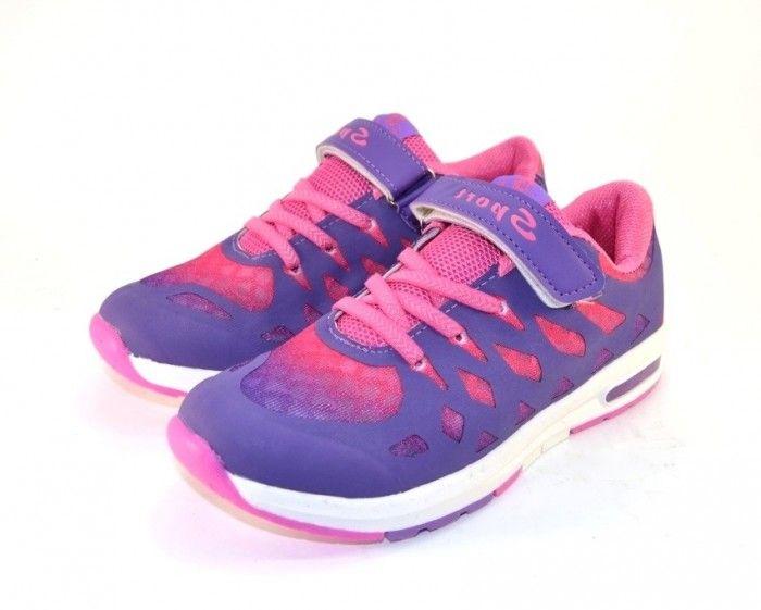 Кроссовки для девочек C371-4 - купить девочкам для школы