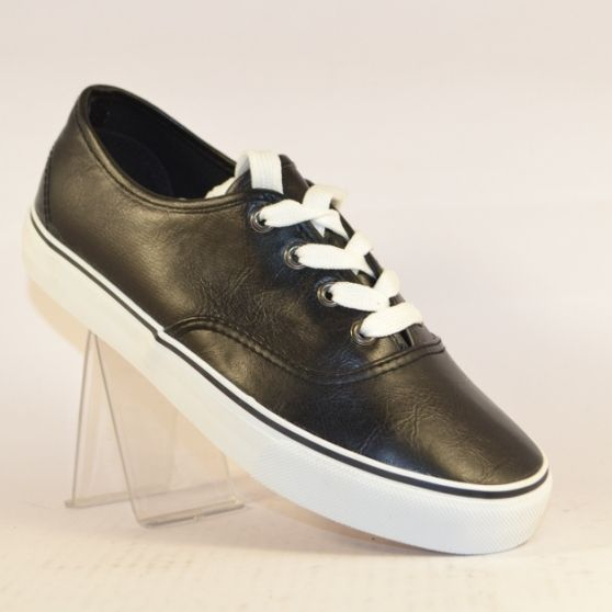 Підліткові кеди AB0059-D BLACK - в інтернет магазині дитячих кросівок для підлітків