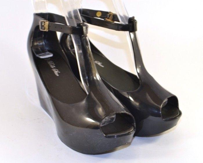 077dc46e4 Силиконовые босоножки на танкетке купить Украина, модная силиконовая обувь  Запорожье