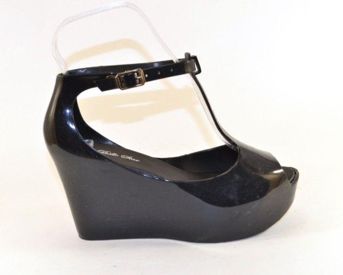 7f3361740 ... Силиконовые босоножки на танкетке купить Украина, модная силиконовая  обувь Запорожье 2 ...