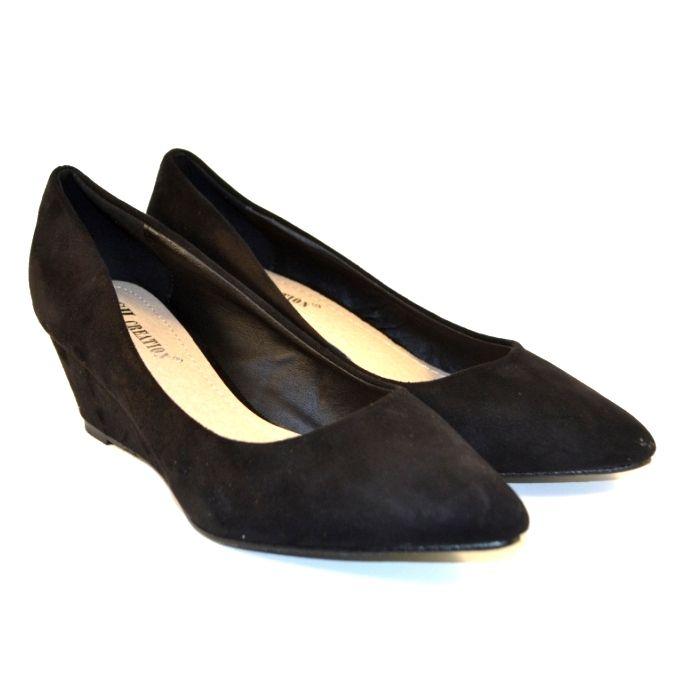 b65db258c698 Женские туфли на танкетке в Запорожье, недорогие женские замшевые туфли
