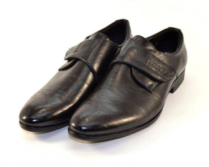 Класичні шкільні туфлі, купити підліткові шкільні туфлі класика, туфлі для хлопчиків