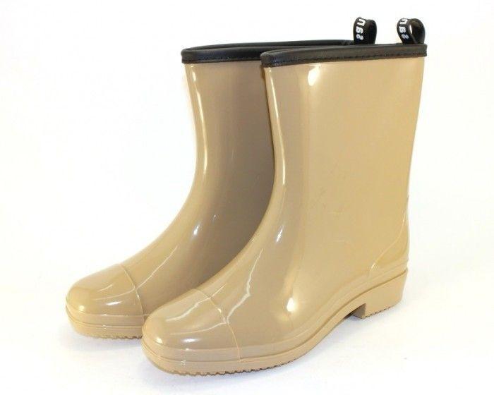 купити силіконову взуття чоботи жіночі низькі гумові чоботи