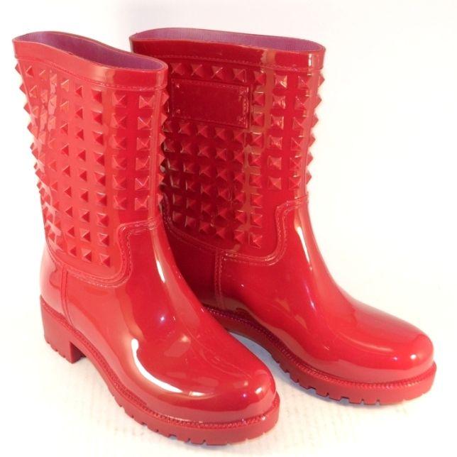 Женские резиновые сапоги Украина, купить силиконовые сапоги в Запорожье, женская резиновая обувь
