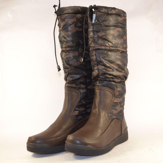 Купити дутики жіночі Запоріжжя, жіночі зимові чоботи дутики Україна