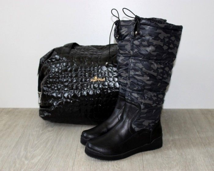 жіночі дутики 22-2 black - стиль, комфорт, зручність.