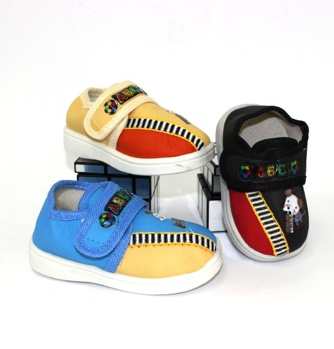 Пінетки для самих маленьких A03-mix - в інтернет магазині дитячих кросівок для хлопчиків