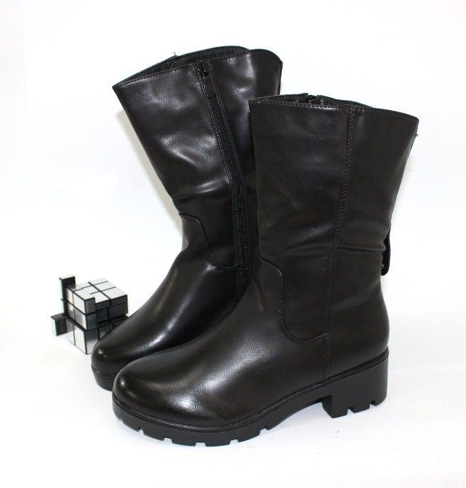 Купить Комфортные тёплые сапоги A1202 - женская зимняя обувь, Запорожье, Днепропетровск, Одесса, Харьков