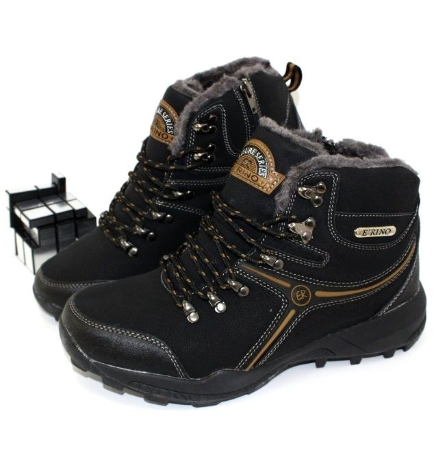 Спортивные зимние ботинки - недорогая мужская обувь!