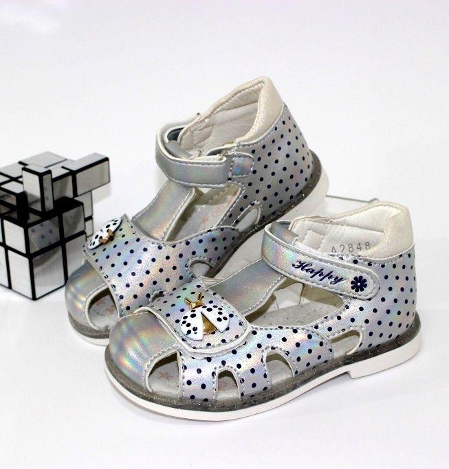 Білі босоніжки для дівчинки - взуття для царівни!