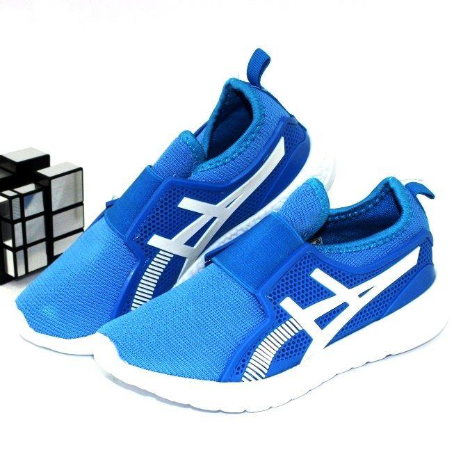 Яркие текстильные кроссовки A316-blue - в интернет магазине детских кроссовок для мальчиков