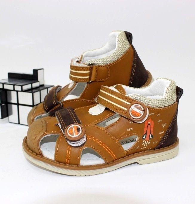 Детские босоножки для мальчика - качественная обувь недорого
