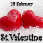 День Святого Валентина - 14 февраля!