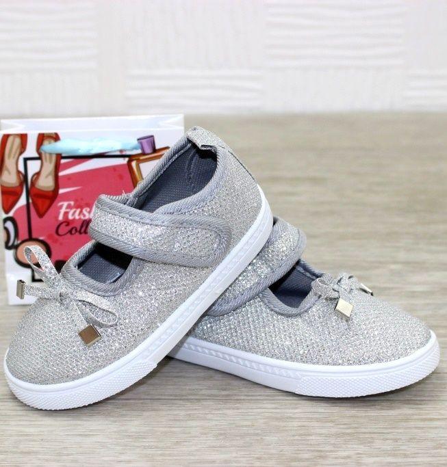 Удобные текстильные кеды для малышей AG78-4 - купить детские кроссовки для самых маленьких девочек