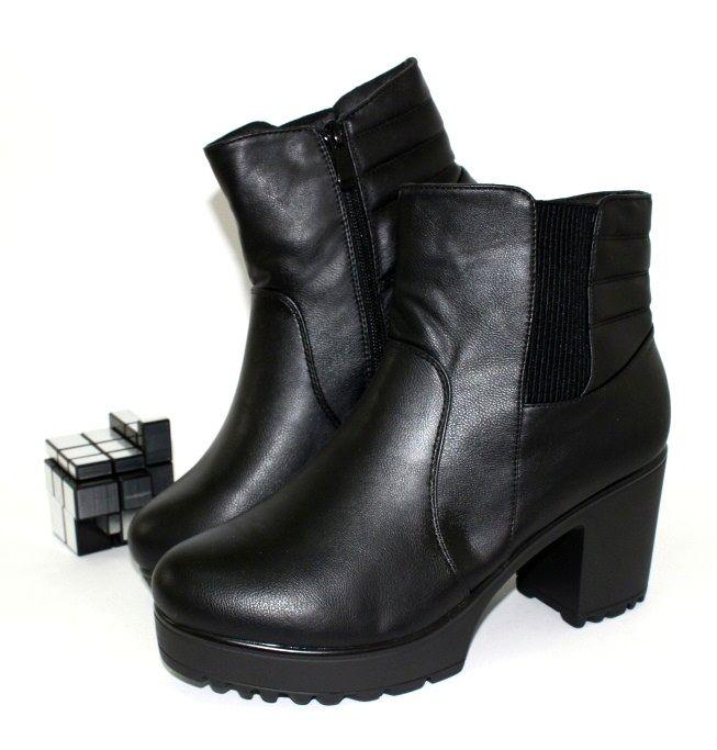 Ботинки весенние и осенние - Ботинки на каблуке B1617