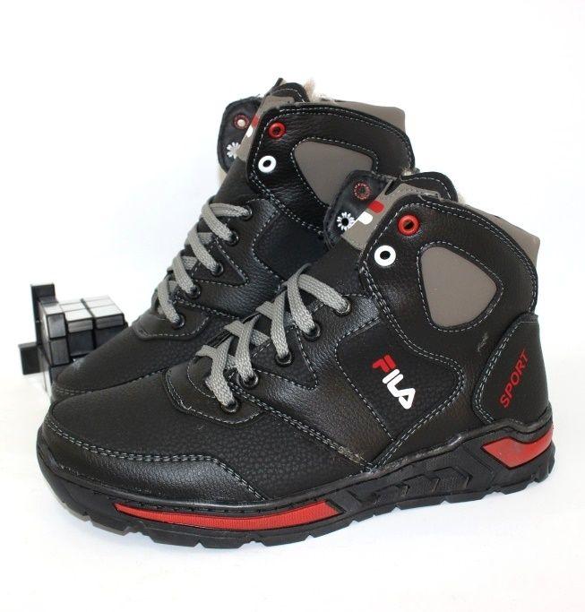 Стильні чоловічі черевики - зимове взуття онлайн!