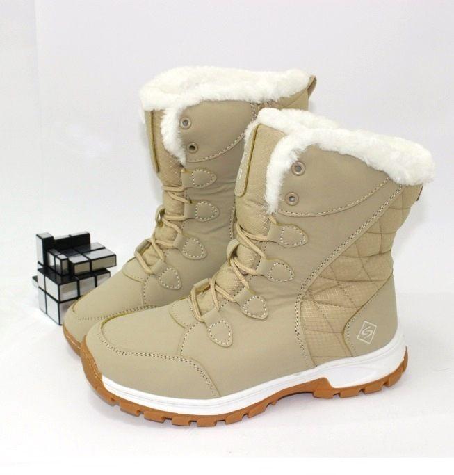 Удобные женские ботинки B316-4 - купить зимнюю обувь