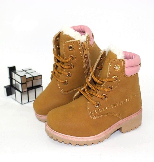 Зимние ботинки для девочек, зимняя детская обувь недорого, обувь Польша