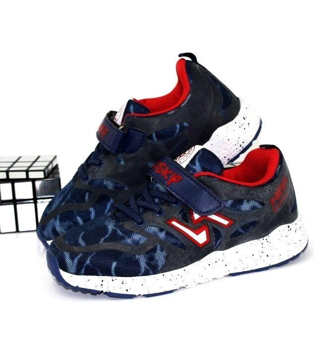 Кроссовки для мальчика две липучке B7667-3 - в интернет магазине детских кроссовок для мальчиков