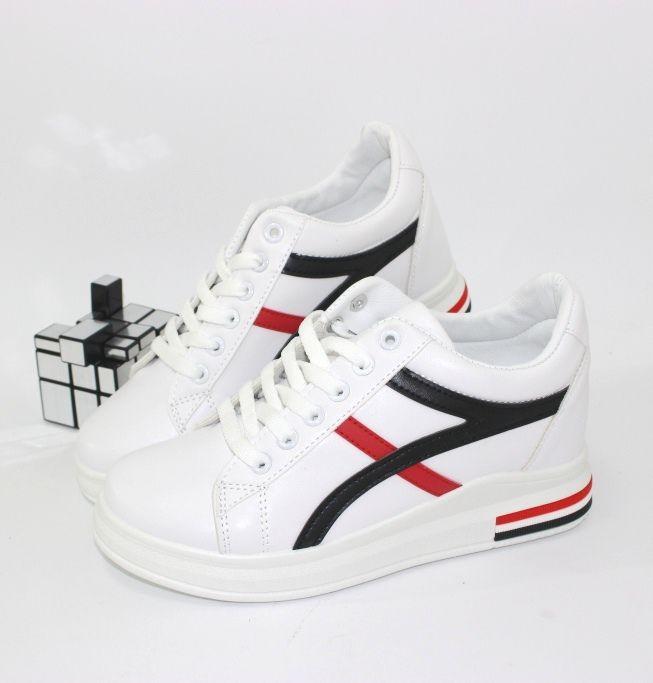кросівки жіночі білі стильні недорого