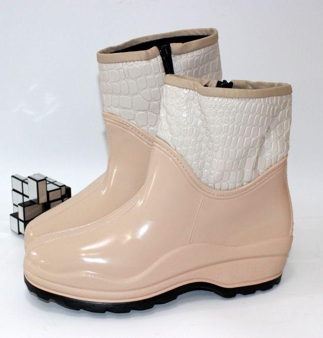 Жіноча гумове взуття, силіконові чоботи Україна, купити гумове взуття