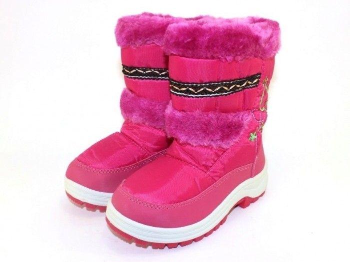 Купити зимові чоботи, термо взуття для дівчинки, дутики Запоріжжя, взуття дівчинка зима