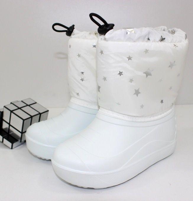 Купить чёрные детские дутики в Запорожье, дутики детские Сандаль, зимняя обувь детская недорого