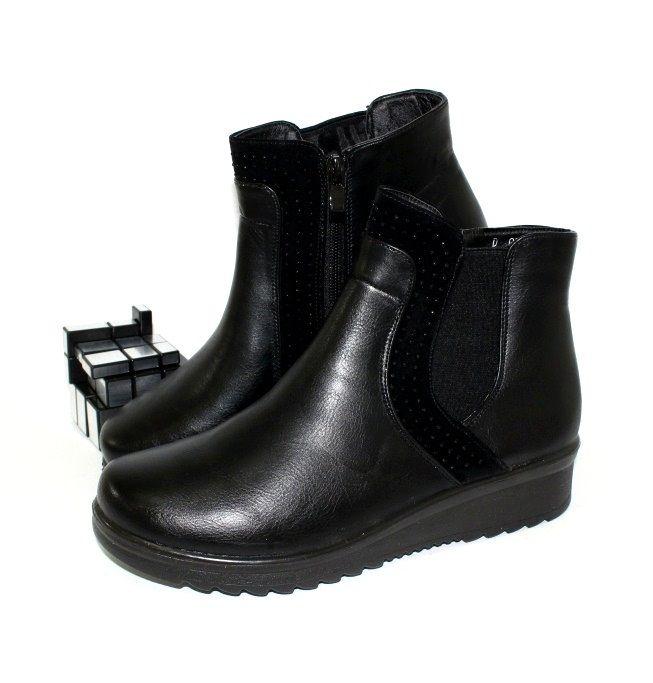 Ботинки весенние и осенние - Комфортные женские ботинки D037